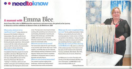 Emma Blee interview