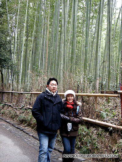Stolling in the bamboo forest
