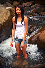 Miss Oriental 2009 | MMCV Shots (esharkj) Tags: sexy nature fashion canon model nikon village commercial jungle portraiture cultural madona nandu beautypageant sumandak marimari outdoorshot missoriental