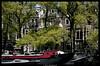 Spring in Amsterdam .. (bert.raaphorst) Tags: trees amsterdam boats houseboat canals springtime canaltrip woonboot springinamsterdam amsterdamsegrachten lenteinamsterdam treesalongthecanals nikkor70300vrii