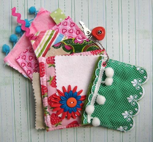 Fabric mini album
