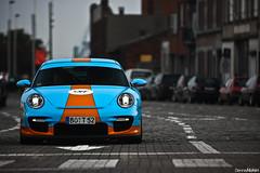 9FF BT-2. (Denniske) Tags: 2 cars coffee colors canon eos is colours gulf 911 porsche l antwerp 70200 2009 bt f28 antwerpen gt2 997 bt2 9ff 40d
