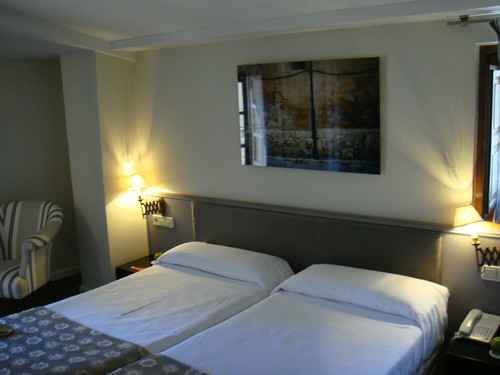 Vista de la habitación estándar