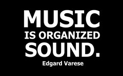 MUSIC / IS ORGANIZED / SOUND