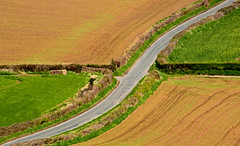 Crossroad (wentloog) Tags: road uk field wales canon landscape eos interestingness gallery britain cymru cardiff explore caerdydd 5d crossroad wfc canoneos5d 100400 explored wentloog welshflickrcymru stevegarrington ef100400f45l