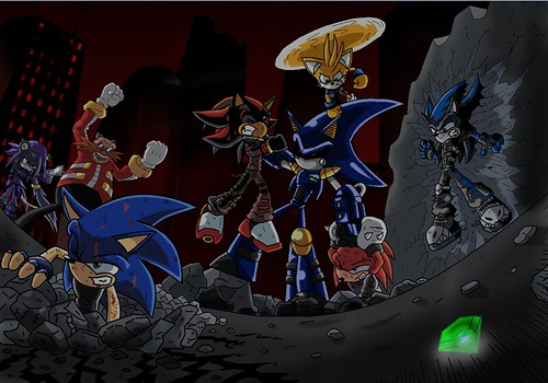 Metal Sonic Vs Metal Knuckles