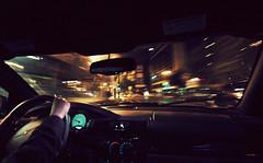 (felix.h) Tags: city urban motion blur car night speed canon eos lights vanishingpoint movement driving hessen frankfurt wideangle lighttrails frankfurtmain hesse sigma1020mm 10mm ultrawideangle sigma1020 400d canoneos400d digitalrebelxti eoskissdigitalx