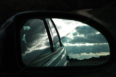 Reflejo (DavidChacon ) Tags: sky reflection ford window car clouds ventana grey mirror spain nikon nikond70s reflect cielo nubes reflejo fordfocus dcv