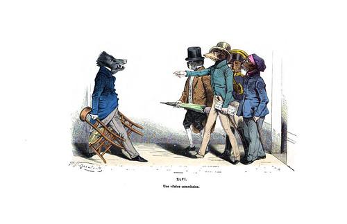 008-Les métamorphoses du jour (1869)-J.J Grandville
