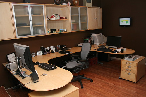 Basement Home Office