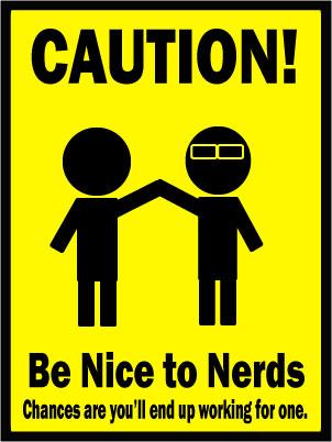 Nerd Caution