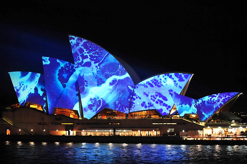 Lights On by Vivid Sydney.