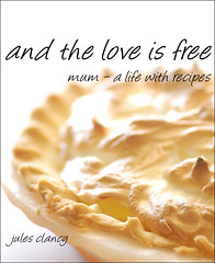 front cover of my very first cookbook