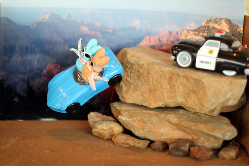 Thelma and Louise: Peeps on the Run