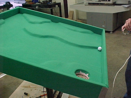 3D Golf Labyrinth Surface