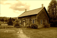 John Brown's Farmhouse (Tony Fischer Photography) Tags: house history sepia farmhouse farm civilwar slavery johnbrown abolitionist antislavery