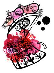 voyage (* Little Circus Design *) Tags: tattoo illustration skulls skeleton pattern decorative australiana floralpattern brushandink thedayofthedead birdimages brushink melbourneart australianart contemporaryillustration blackandwhiteimages thejackywintergroup monochromaticcolour littlecircusdesign madeleinestamer littlebirdsville limitededitiongicleeprints australianillustration contemporaryfolkstyle