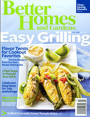 Better Homes & Gardens, July 09 cover