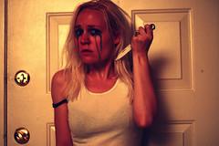 Borderline 111 (snowyshroom) Tags: red tears fear dramatic manipulation anger scissors cutting knives emotional screaming desperation threat borderline borderlinepersonalitydisorder selfharm