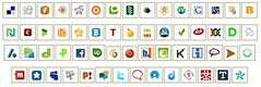 50 Social Media Icons [Photo by IvanWalsh.com] (CC BY-SA 3.0)