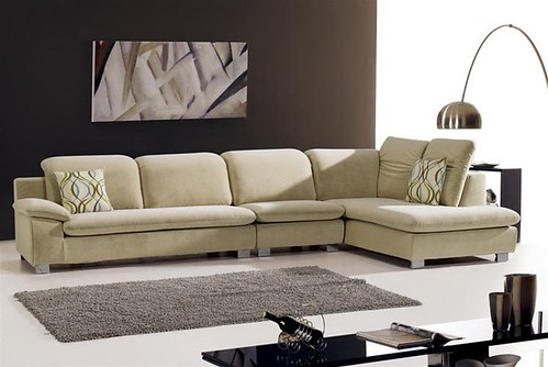 Martino Microfiber Sectional Set S268