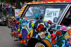 Fruitmobile (sherihall) Tags: houston 2009 artcarparade