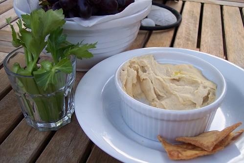 Hummus - going fast
