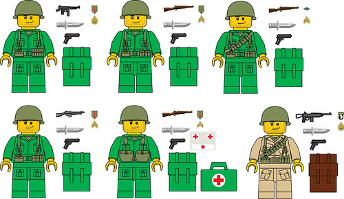 custom army men