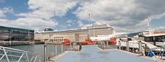 (Alberto Prez Barahona) Tags: espaa puerto spain nikon galicia galiza embarcadero pontevedra vigo d60 barahona trasatlantico radevigo nikond60 mscorchestra puertodevigo