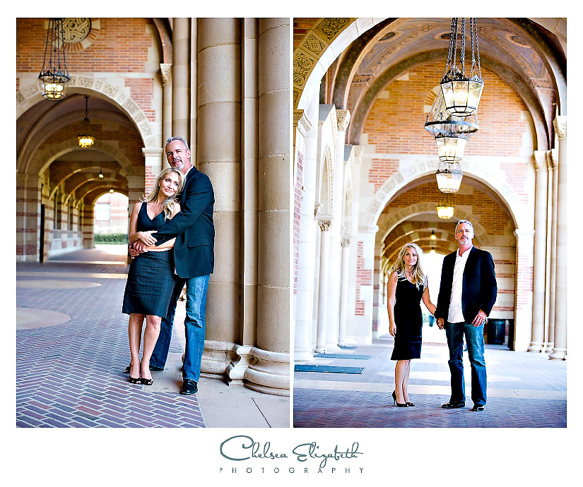 UCLA engagement and wedding photography