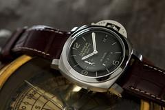 Panerai 270 Luminor 1950 10 Days GMT (martin wilmsen) Tags: jewellery wristwatch gmt panerai luminor pam270 pam00270