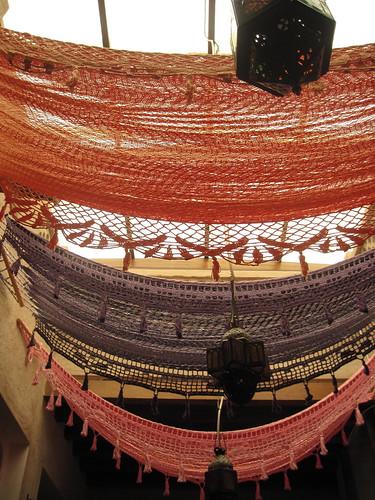 Tapestries in Bastakiya