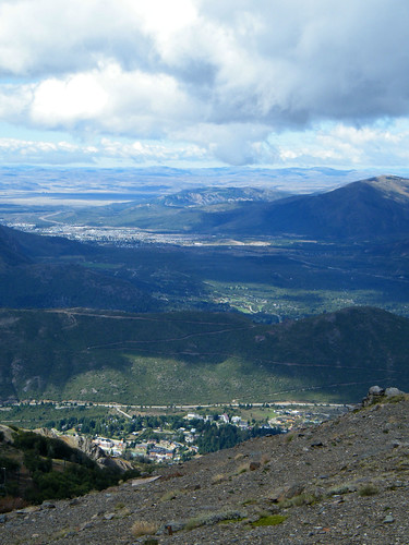 View from Cerro Catedral, Bariloche by katialley on Flickr