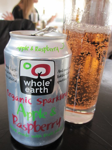 Apple and Raspberry Soda