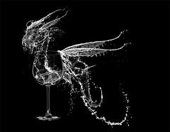 Dragon de agua (joguero) Tags: photoshop agua dragon cristal vaso draco drache