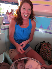 jody on the teacups