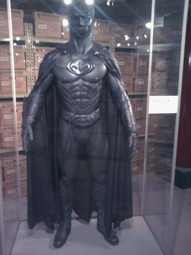 George Clooney's Batman Costume