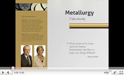 JinWook Metallurgy Powerpoint Presentation