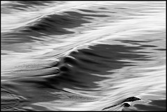 Black, White and Wet. (Aspiriini) Tags: water wave aalto joni aallot lehto aspiriini