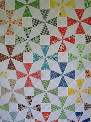 Saltwater Taffy Quilt Top - center