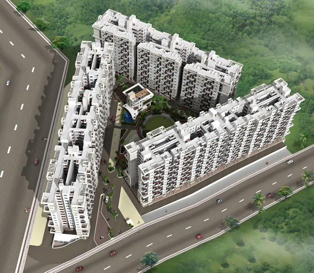 Vanalika Pirangut - upcoming township of 1 BHK & 2 BHK Flats on Paud Road - 8 kms from Chandani Chowk Kothrud Pune