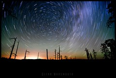 Spin Cycle (glennwadsworth) Tags: park night way star utah nikon long exposure hiking trails tokina national backpacking zion milky d90 1116mm