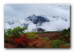 Hello Monsoon !! (walvekar) Tags: hello morning blue red india mountain green colors yellow clouds monsoon maharashtra pune ppjun11
