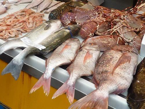 Fish market, Malaga