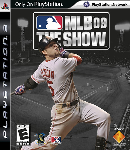 MLB09 PS3 Cover