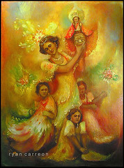 Sinulog ( Dancers ) (Estaba El Senhor InigoDeloyola) Tags: colors dance costume infant catholic ryan philippines religion jesus icon holy sto cebu ritual nino sinulog pagan carreon