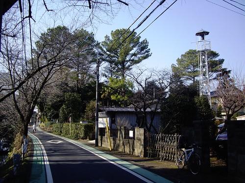 西新井町の火の見櫓(所沢市)