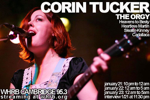 corin tucker flier with interview