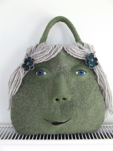 Catherine Felted Monster Bag
