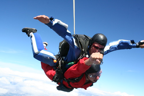 Skydive @ Lake Taupo, New Zealand